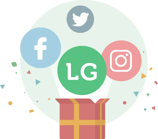 Illustration of LaunchGood marketing package